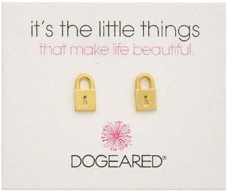 Dogeared It's The Little Things 14K Over Silver Earrings