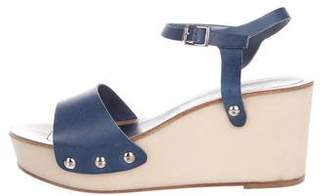Golden Goose Platform Leather Sandals
