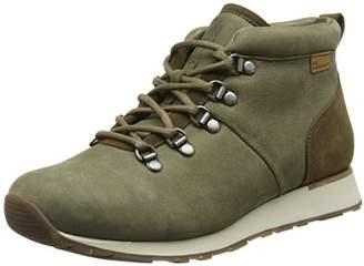 El Naturalista Adults  ND62 Pleasant-LUX Suede KAKI WALKY Hi-Top Sneakers 6165f2c4b86