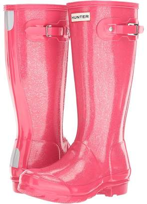 Hunter Original Glitter Rain Boots Kids Shoes
