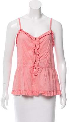 Marc by Marc Jacobs Sleeveless Button-Up Top
