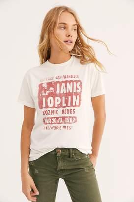 Original Retro Brand Black Label Janis Joplin Tee