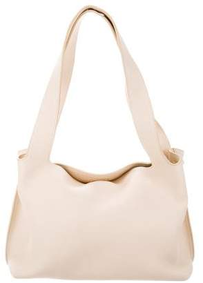The Row Small Duplex Leather Bag