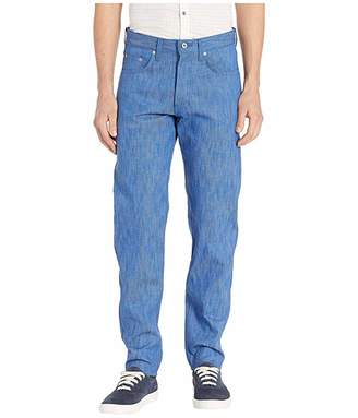 Naked & Famous Denim Easy Guy Blue Storm Slub Jeans