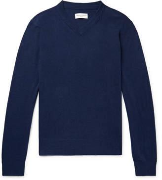 Officine Generale Slim-Fit Cashmere Sweater