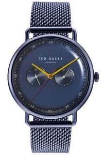 Ted Baker Multi-Function Mesh-Bracelet Watch