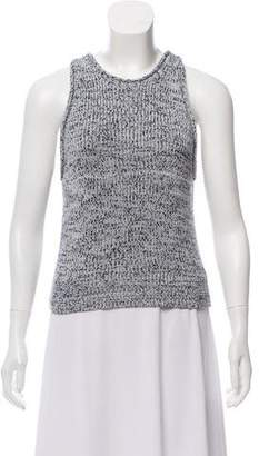 3.1 Phillip Lim x Linda Farrow Open-Knit Sleeveless Top