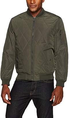 Co Weatherproof Garment Men's Oxford Nylon Quilted Baseball Jacket