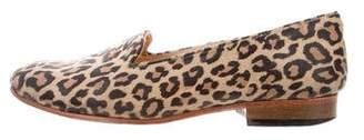 Dieppa Restrepo Suede Printed Loafers