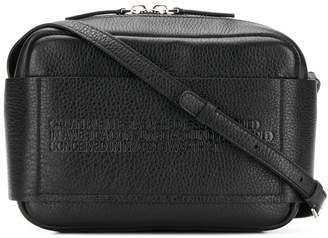 Calvin Klein embossed cross body bag