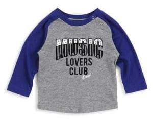 Diesel Baby Boy's Music Lovers Club Cotton Tee
