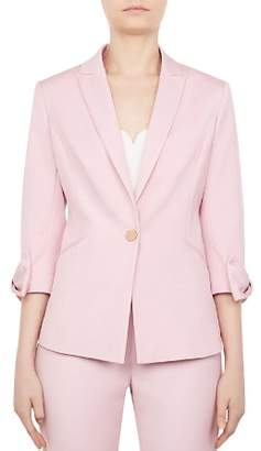 Ted Baker Toply Bow-Detail Blazer