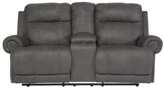 Red Barrel Studio Culver Double Console Reclining Loveseat Reclining Type: Power,