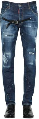DSQUARED2 16.5cm Cool Guy Denim Jeans W/ Belt