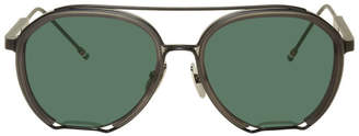 Thom Browne Grey TBS810 Sunglasses