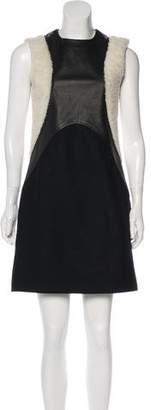 Neil Barrett Sleeveless Mini Dress