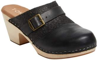 Toms Women's Elisa Leather Clog