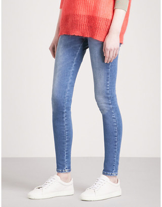 Diesel Slandy super-skinny high-rise jeans