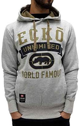 Ecko Unlimited Mens Boys Overhead Graphic Print Hoodie (L, )