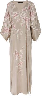 Josie Natori Couture Kimono Caftan