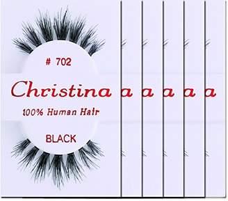 Christina Eyelashes 702 - (6 Pack)