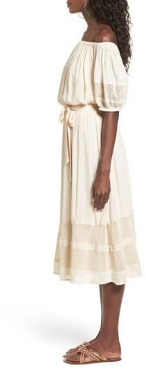 Women's Tularosa Marty Off The Shoulder Midi Dress 5