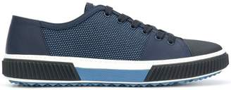 Prada mesh lace-up sneakers