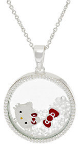 """As Is Hello Kitty Crystal Shaker Pendant with 18"""" Chain $19.95 thestylecure.com"""
