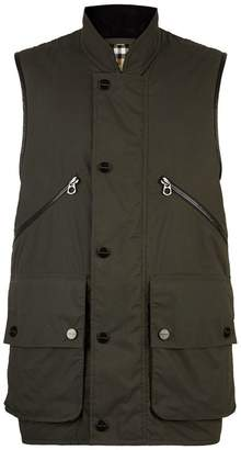 Burberry Check Lined Gilet