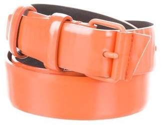 Balenciaga Leather Buckle Belt