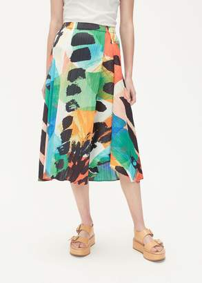 Pleats Please Issey Miyake Laughing Rope Skirt