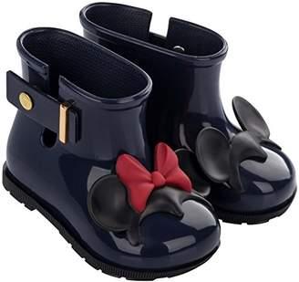Mini Melissa Girls' Mini Sugar RAIN + Disney Twins Boot