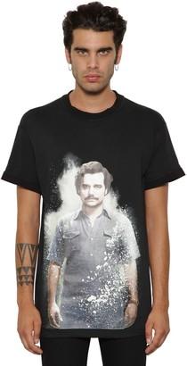 Ih Nom Uh Nit Escobar Print Cotton Jersey T-Shirt