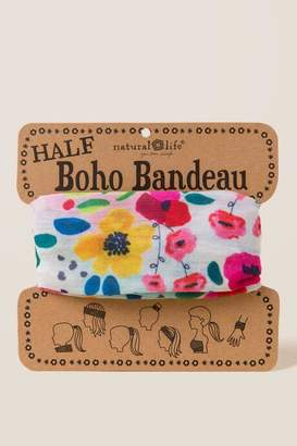 francesca s Boho Bandeau in Multi Floral - Ivory dcd2e6a485e