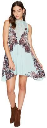 Free People Marsha Printed Slip Dress Women's Dress