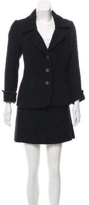 Chanel Paris-Moscou Wool Skirt Suit w/ Tags