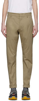 Prada Khaki Tailored Trousers