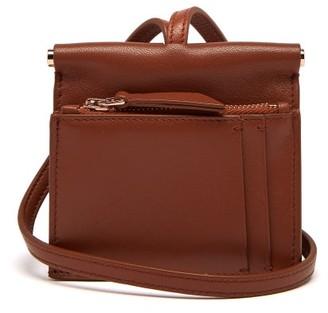 Gabriela Hearst Maria Mini Leather Necklace Bag - Womens - Tan