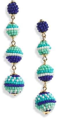 Rebecca Minkoff Blair Bead Ball Drop Earrings