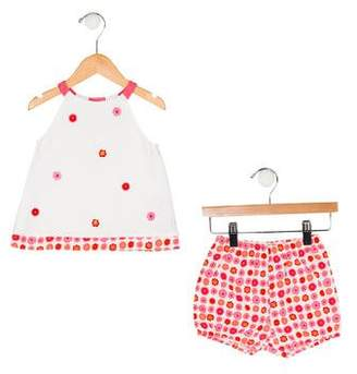 Florence Eiseman Girls' Two-Piece Floral Set