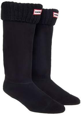 Hunter Women's Haf Cardigan Boot Sockarge in Back