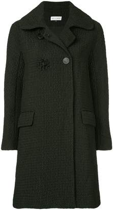 Dice Kayek textured double-breasted coat