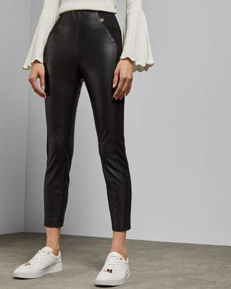 Ted Baker PRIALA Faux leather leggings