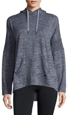 Hooded Drop-Shoulder Tunic