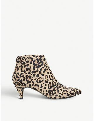 Steve Madden Lucinda leopard print ankle boots