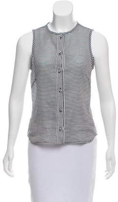 Martin Grant Sleeveless Button-Up Top w/ Tags