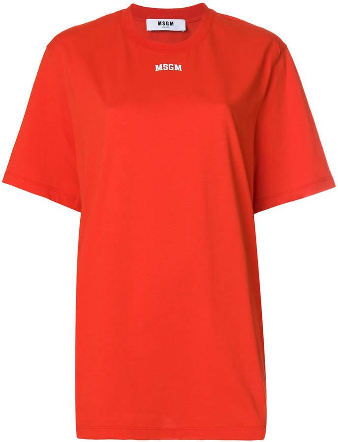 MSGM short sleeved logo T-shirt