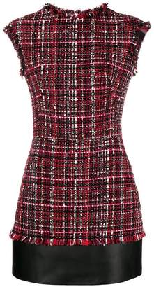 Alexander McQueen short tweed dress