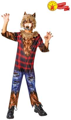 Rubie's Costume Co Boys Halloween Werewolf Costume - Brown
