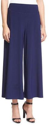 NIC+ZOE Luxe Jersey Cropped Pants, Abyss $118 thestylecure.com